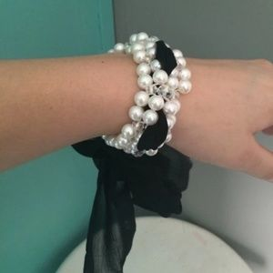 Jewelry - Pearl Ribbon Bracelet